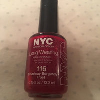 NYC Long Wearing Nail Color - Burgundy uploaded by Sarah Abney G.