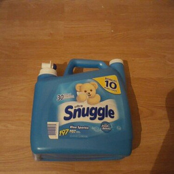 Photo of Ultra Snuggle Fabric Softener, Blue Sparkle, 197 loads (157.6oz.) uploaded by Karen A.