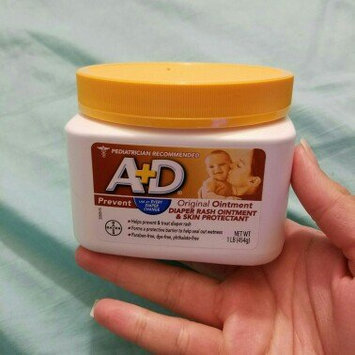 A+D® Original Diaper Rash Ointment & Skin Protectant 1 lb. Tub uploaded by laura b.