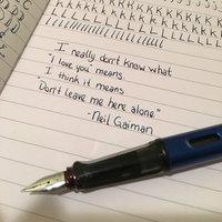 Lamy Alstar Fountain Pen Medium Pearl uploaded by Nicole U.