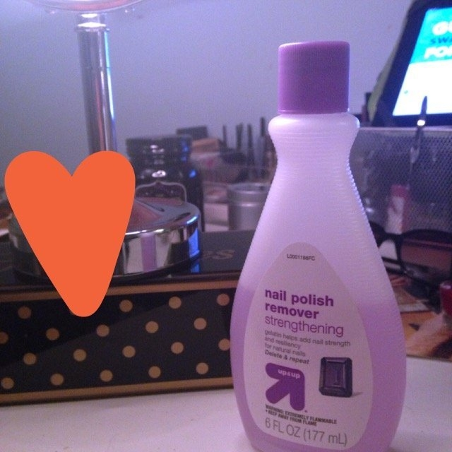 Up & up Strengthening Nail Polish Remover uploaded by Lauren M.