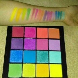 NYX Cosmetics Ultimate Shadow Palette uploaded by Kaitlyn B.
