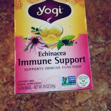Yogi Tea's Yogi Echinacea Immune Support Herbal Tea Bags, 16 count, .85 oz, (Pack of 6) uploaded by Alyssa K.