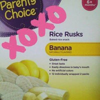 Parent's Choice Blueberry Rice Rusks Baked Rice Snack, 12 count, 1.76 oz uploaded by Tomasa O.
