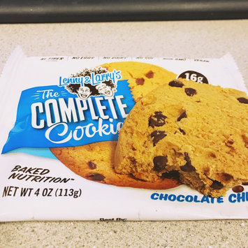Lenny & Larry's The Complete Cookie, Chocolate Chip, 4 oz, 12 ct uploaded by Sarah T.