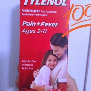 Photo of Tylenol Children's Pain Reliever uploaded by ismaray g.