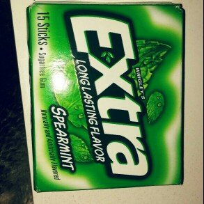 Photo of Extra Spearmint Sugar-Free Gum uploaded by Kayla O.
