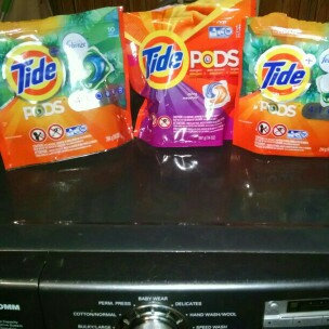Tide Pods Plus Febreze uploaded by Trudy L.