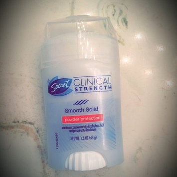 Photo of Secret Clinical Strength Smooth Solid Women's Antiperspirant & Deodorant Stress Response uploaded by Rochelle D.