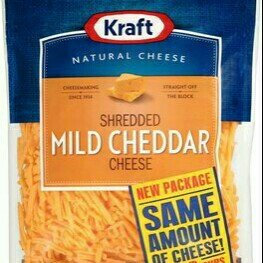 Photo of Kraft Shredded Mild Cheddar Cheese ZIP-PAK® uploaded by Rendi D.