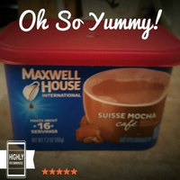 Maxwell House International Cafe Cafe-Style Beverage Mix, Suisse Mocha Cafe uploaded by Erin B.