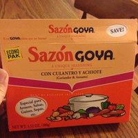 Goya Sazon Coriander & Annatto Seasoning uploaded by Mildred P.