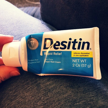 Photo of Desitin Rapid Relief Diaper Rash Ointment uploaded by Michaela G.