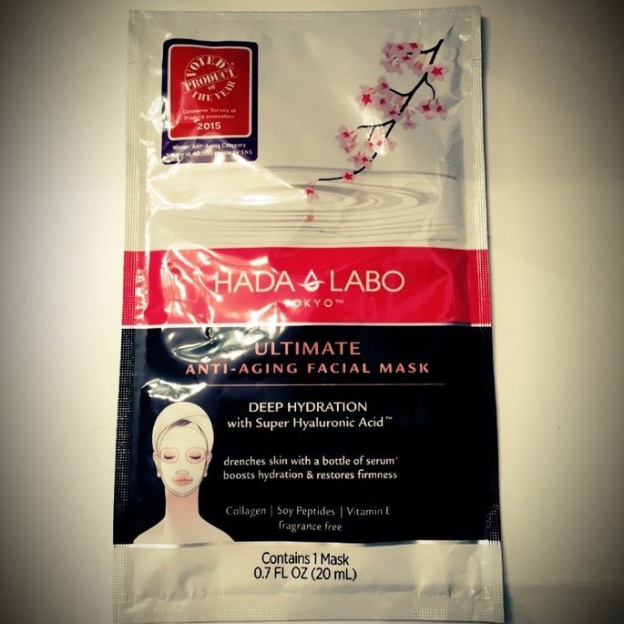 Hada Labo Tokyo™                           Ultimate Anti-Aging Facial Mask uploaded by Shannon R.
