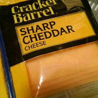 Kraft Cracker Barrel® Cheddar Sharp Cheese Slices 11 Ct 7 Oz Zip Pak uploaded by Melissa R.