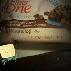 Fiber One 90 Calorie Chocolate Fudge Brownies uploaded by margarita m.