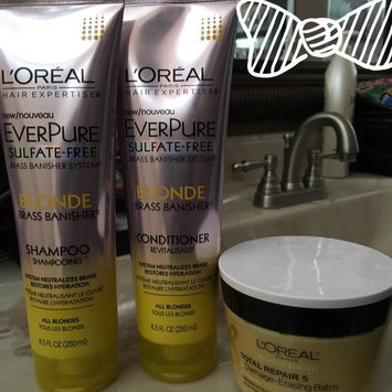 Photo of L'Oréal® Paris Hair Expertise™ EverPure Sulfate-Free Blonde Brass Banisher™ Shampoo 11.05 fl. oz. Tube uploaded by Vanessa G.
