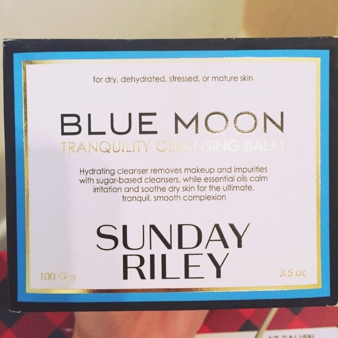 Sunday Riley Blue Moon Tranquility Cleansing Balm uploaded by Jessica H.