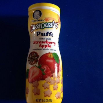 Photo of Gerber® Puffs Peach uploaded by Mallory R.