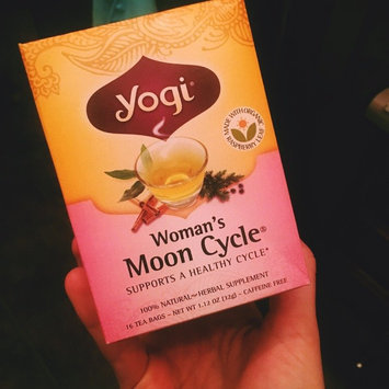 Yogi Tea Woman's Moon Cycle Herbal Tea uploaded by Amanda G.