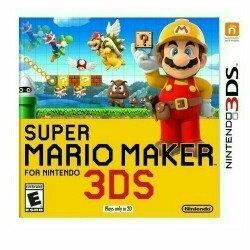 Super Mario Maker Nintendo 3DS uploaded by linda z.
