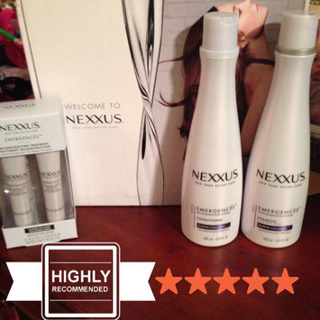 Photo of NEXXUS® EMERGENCÉE TREATMENT FOR DAMAGED HAIR uploaded by Amber P.