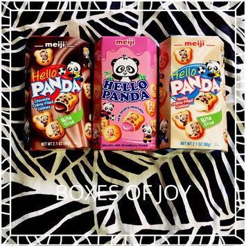 Meiji Hello Panda Vanilla Creme Filled Cookies uploaded by Elise G.