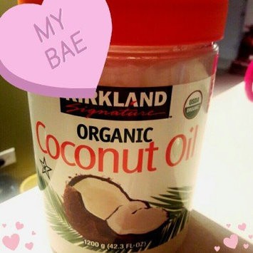 Photo of Kirkland Signature Organic Virgin Coconut Oil Cold Pressed Unrefined 42.3 Fl oz uploaded by Andrea M.
