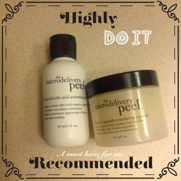 Photo of philosophy microdelivery peel kit uploaded by Ruchi S.