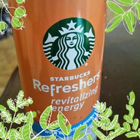Starbucks® Refreshers® Peach Passion Fruit with Coconut Water Energy Beverage 12 fl. oz. Can uploaded by Kelly T.