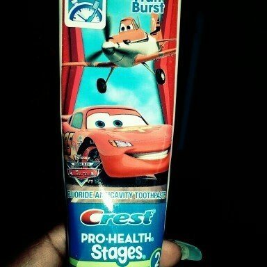Oral-B Crest Pro-Health Stages Disney Cars Kid's Toothpaste 4.2 Oz uploaded by Ava R.