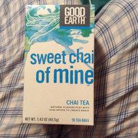Good Earth® Sweet Chai of Mine™ Chai Tea 18 ct Box uploaded by Corinne B.