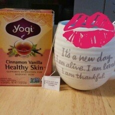 Yogi Tea Cinnamon Vanilla Healthy Skin uploaded by Samantha A.