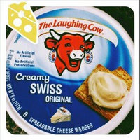 The Laughing Cow Creamy Swiss Original Spreadable Cheese Wedges - 8 CT uploaded by Shea L.