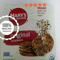 Marys Gone Crackers Mary's Gone Crackers, Original, 6.5-Ounce Boxes (Pack of 12) uploaded by Alicia S.
