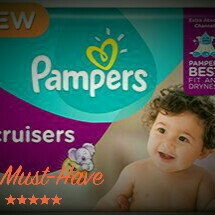 Pampers Cruisers   uploaded by Brittney V.