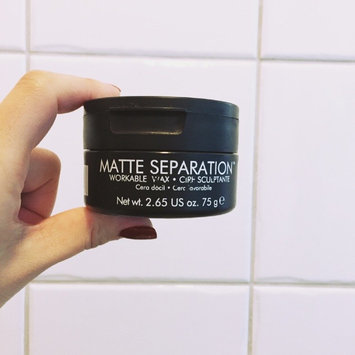 Photo of Bed Head for Men by TIGI Matte Separation™ Workable Wax uploaded by Brittany H.