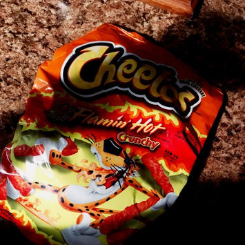 Cheetos Flamin' Hot Crunchy Cheese Flavored Snacks uploaded by Rene C.