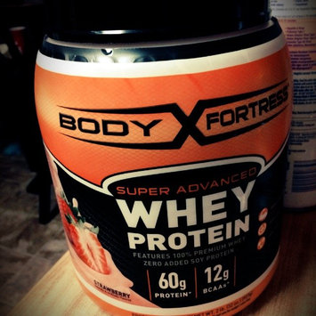 Photo of Body Fortress Super Advanced Whey Protein Strawberry uploaded by Valerie B.