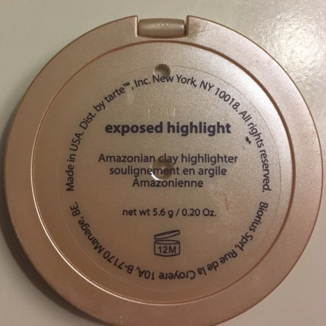 tarte Amazonian Clay Highlighter Exposed 0.20 oz uploaded by Amelia C.