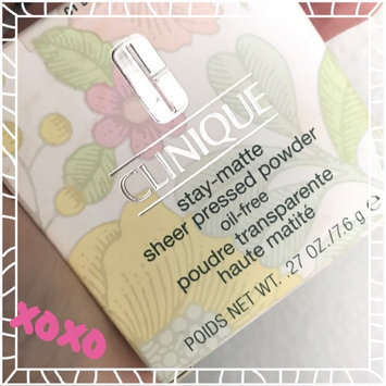 Photo of Clinique Stay-Matte Sheer Pressed Powder uploaded by Olga Janeth O.