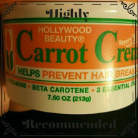 Hollywood Beauty Creme, Carrot, 7.5 Ounce uploaded by Tiffani M.