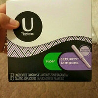 Kotex Security Super Absorbency Tampons uploaded by Shamaka G.