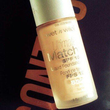 Photo of wet n wild Ultimate Match SPF 15 Foundation uploaded by Baylee C.