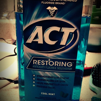 Photo of ACT Restoring Anticavity Fluoride Mouthwash Mint uploaded by Regan G.