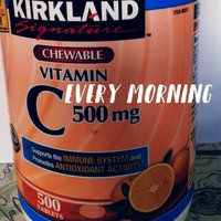 Kirkland Signature Kirkland Vitamin C (500 mg), 500-Count, Tangy Orange, Chewable Tablets uploaded by Annabell P.