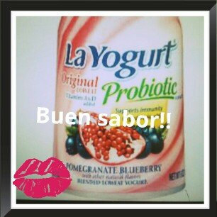 La Yogurt Probiotic Pomegranate Blueberry Blended Lowfat Yogurt Original 6 Oz Cup uploaded by Katerin H.