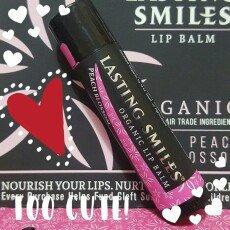 Photo of Lasting Smiles® Peach Blossom Organic Lip Balm-0.15 oz uploaded by Temis P.