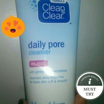 Photo of Clean & Clear® Oil-Free Daily Pore Cleanser uploaded by Phoebe H.