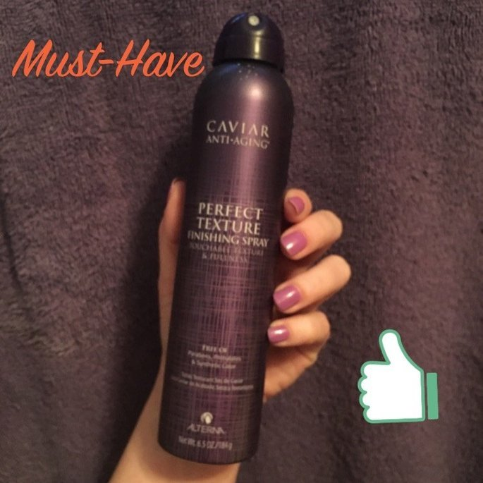ALTERNA Caviar Anti-Aging(R) Perfect Texture Finishing Spray 6.5 oz uploaded by Karen Y.